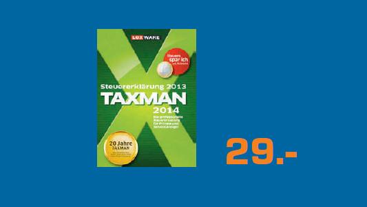 Lexware Taxman 2014 (DE) (Win) ©Saturn