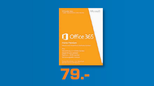 Microsoft Office 365 Home Premium (DE) © Saturn