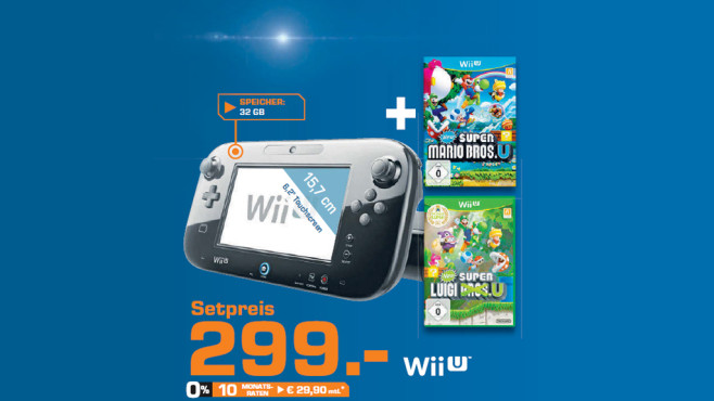 WiiU Set © Saturn