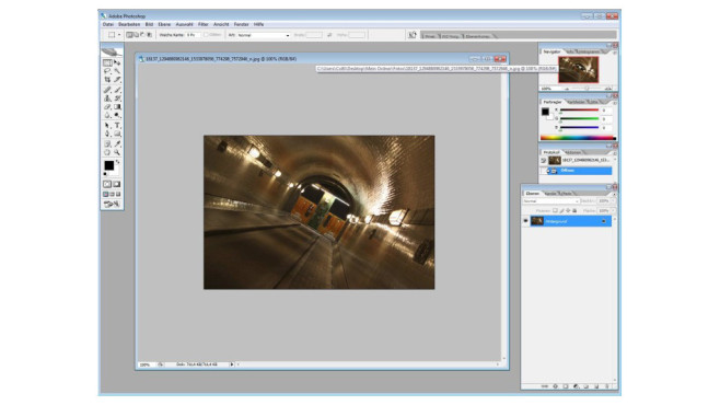 Adobe Photoshop CS2 © COMPUTER BILD