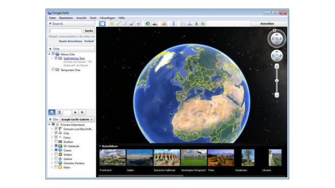 Google Earth © COMPUTER BILD