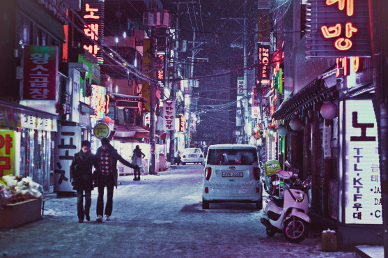 Seoul/Sinchon Nightlife © karlwagnerphotography