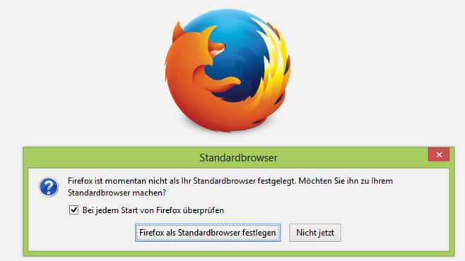 Kein Standardbrowser-Check beim Start © COMPUTER BILD