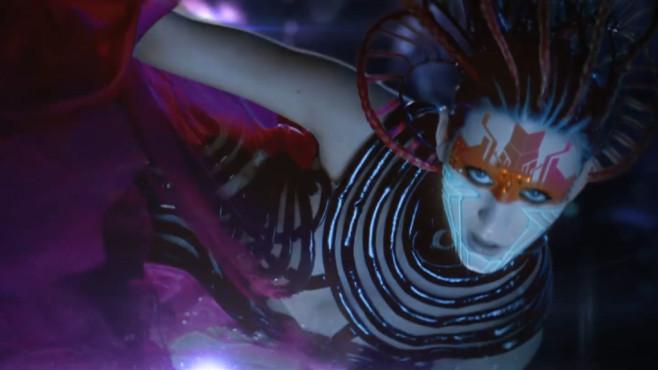 "Ausschnitt aus dem Musikvideo ""E.T."" von Katy Perry & Kanye West ©Capitol Records, LLC."