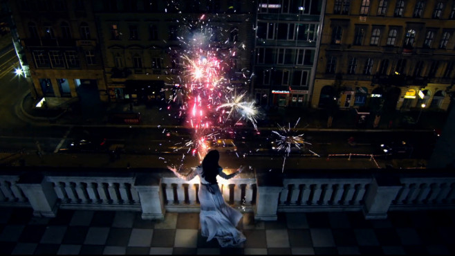 "Ausschnitt aus dem Musikvideo ""Firework"" von Katy Perry ©Capitol Records, LLC."