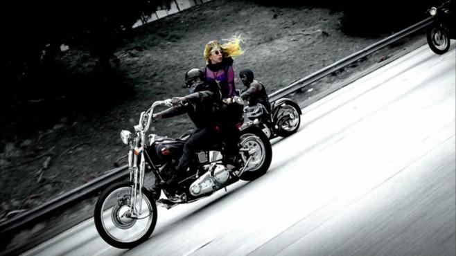 """Ausschnitt aus dem Musikvideo """"Judas"""" von Lady Gaga ©Interscope Records"""