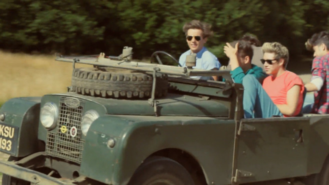 "Ausschnitt aus dem Musikvideo ""Live While We're Young"" von One Direction © Simco Limited under exclusive license to Sony Music Entertainment UK Limited"