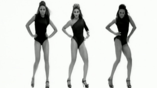 "Ausschnitt aus dem Musikvideo ""Single Ladies (Put A Ring On It)"" von Beyoncé © SONY BMG MUSIC ENTERTAINMENT"