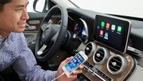 Mercedes CarPlay (iOS in the Car) © Mercedes-Benz