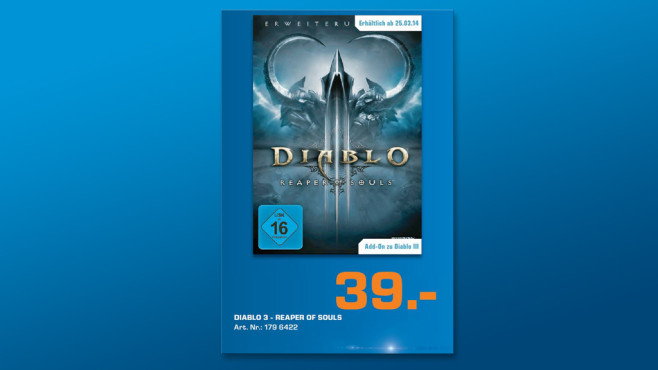 Diablo 3 – Reaper of Souls © Saturn