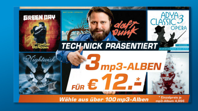 MP3-Alben zum Download © Saturn