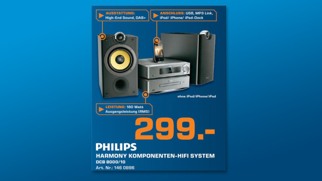 Philips DCB8000/10 © Saturn