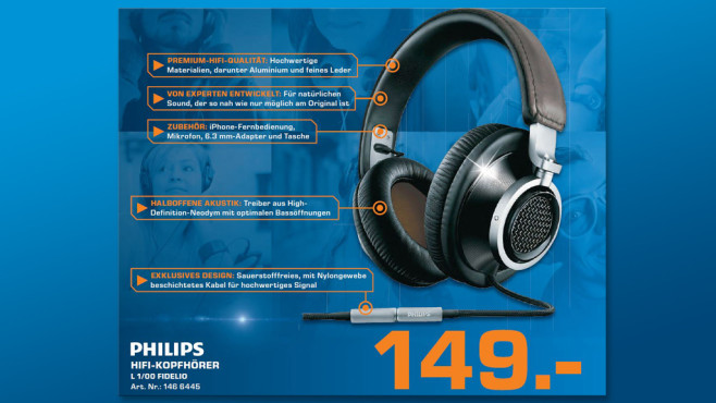 Philips Fidelio L1 © Saturn