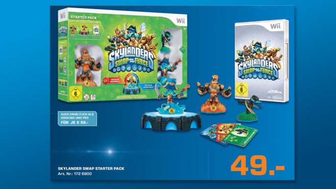 Skylander: Swap Force – Starter Pack (Wii) © Saturn