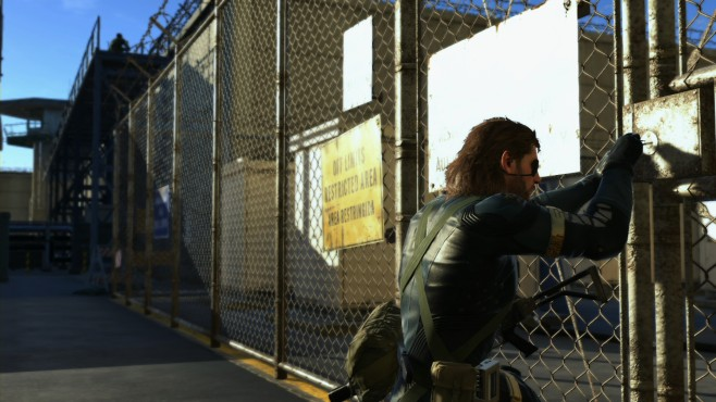 Metal Gear Solid 5: Ground Zeroes © Konami