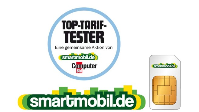 Smartmobil-Tarif All-in XM im Top-Tarif-Test © Smartmobil/COMPUTER BILD