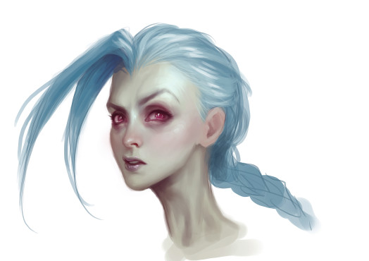 Jinx: Facial Expression © Riot Games