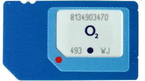 3-in-1-SIM-Karte ©Telefónica O2