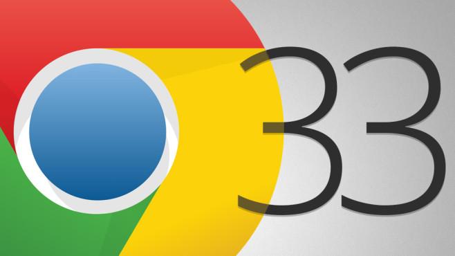 Google Chrome 33 ©COMPUTER BILD, Google