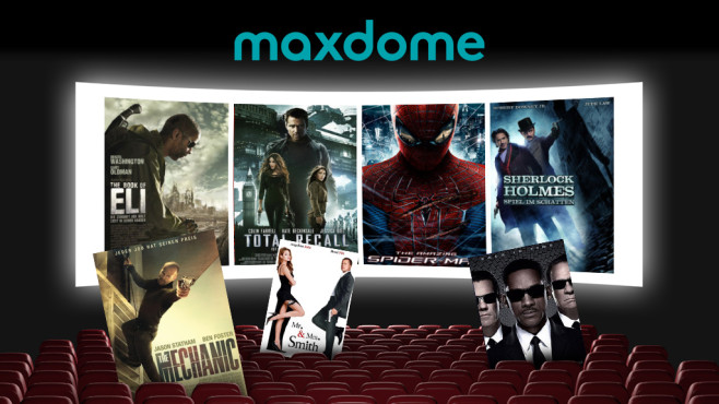 Maxdome Actionfilme © Olga Galushko – Fotolia.com, StudioCanal, Tobis, Nu Image, Tele München, Sony Pictures Entertainment, Warner Bros. Entertainment