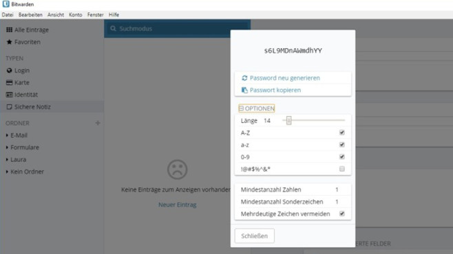 Bitwarden Passwort-Manager ©COMPUTER BILD