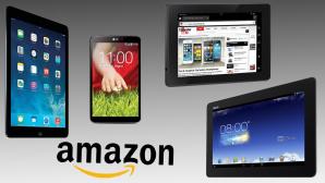 Die beliebtesten Tablets bei Amazon ©Apple, LG, Amazon, Asus