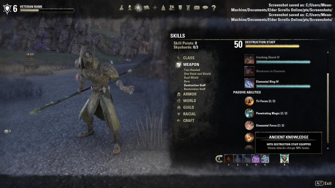 The Elder Scrolls Online: Zauberer-Guide © Bethesda
