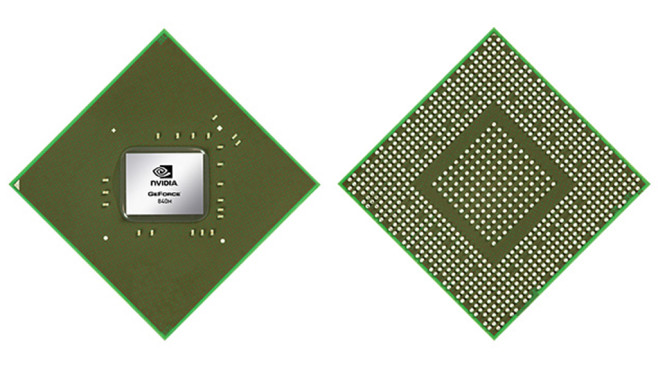 Nvidia Geforce 840M © Nvidia