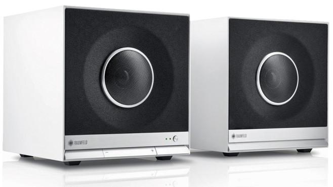 teufel raumfeld cube test der wlan lautsprecher audio. Black Bedroom Furniture Sets. Home Design Ideas