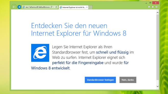 Windows 7/8.1: Neuerer Internet Explorer 11 ist nutzbar ©COMPUTER BILD