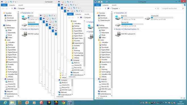 Windows 7/8: Besserer Fensterumgang dank neuer Funktionen ©COMPUTER BILD