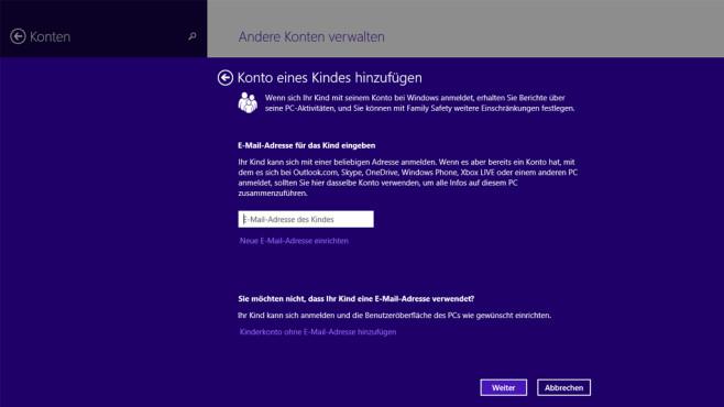Windows 7/8: Jugendschutz schon an Bord ©COMPUTER BILD