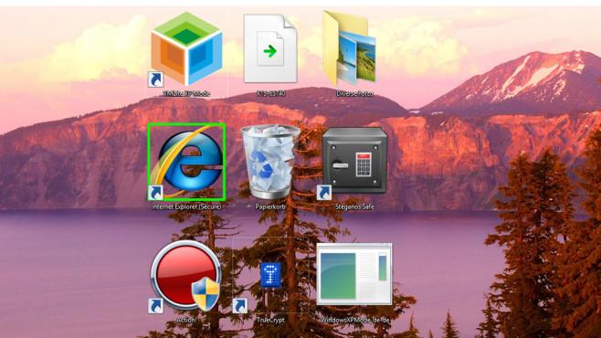 Windows 7/8: Symbol-Größe per Mausrad änderbar ©COMPUTER BILD