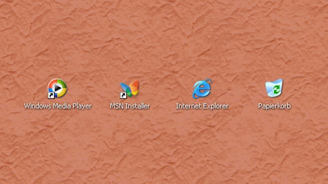 Windows XP: Fixe Symbol-Größe ©COMPUTER BILD