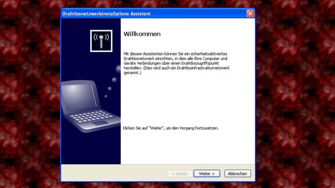 Windows XP: Kein modernes WPA2 ©COMPUTER BILD