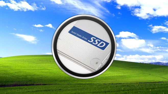 Windows XP: Keine Unterstützung für SSD-Festplatten ©Microsoft