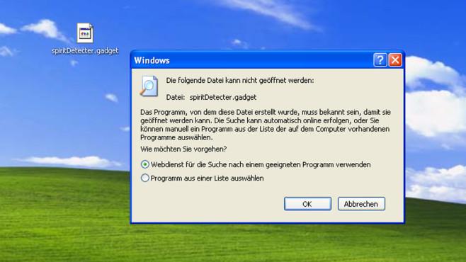 Windows XP: Nur eine Software-Art nutzbar ©COMPUTER BILD