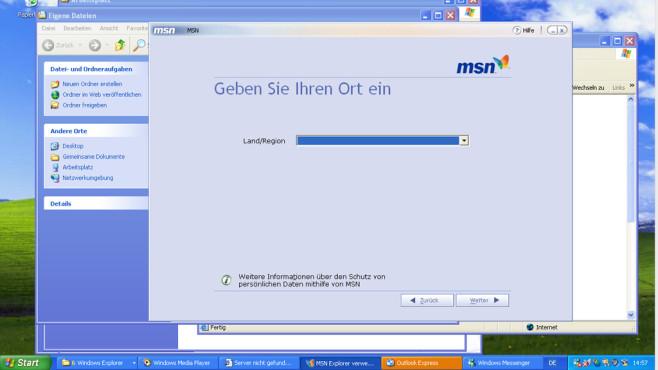 Windows XP: Schnell überfüllte Taskleiste ©COMPUTER BILD