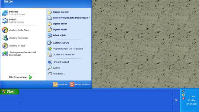 Windows XP: Vergrößerte Taskleiste ist umständlich ©COMPUTER BILD