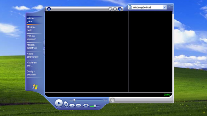 Windows XP: Windows Media Player beherrscht kaum Formate © COMPUTER BILD