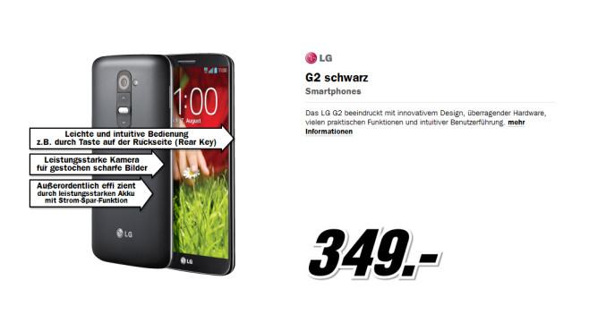 LG G2 ©Media Markt
