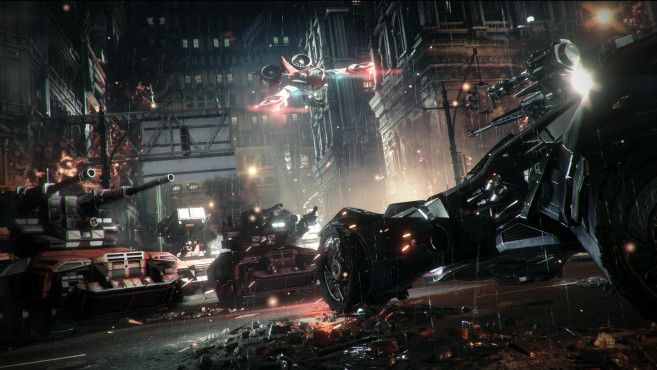 Actionspiel Batman – Arkham Knight: Gotham © Warner Bros. Interactive