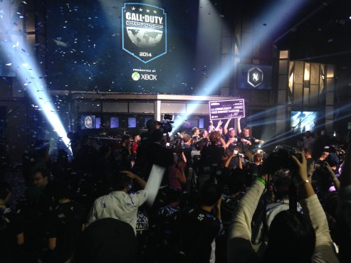 Call of Duty Championship 2014: Scheck © Activision
