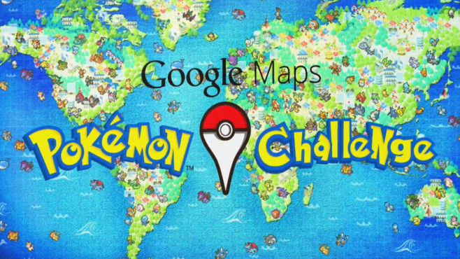 Google Maps: Pokémon Challenge © Screenshot, COMPUTER BILD