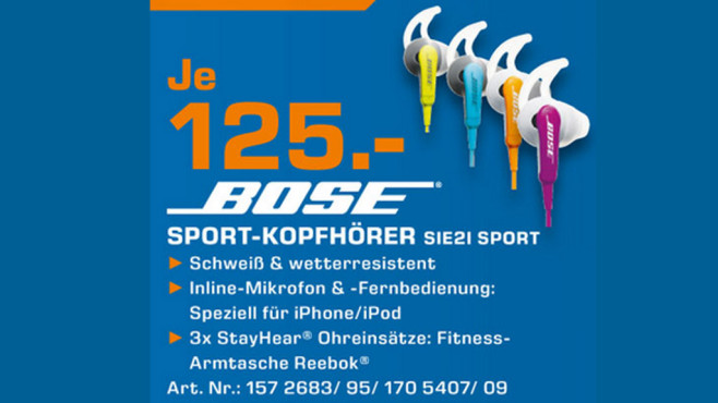 Bose SIE2i Sport Headphones ©Saturn