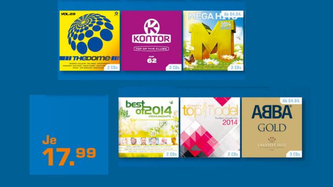 CD-Bestseller Compilations ©Saturn