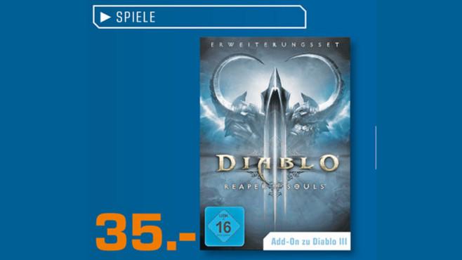 Diablo 3: Reaper of Souls (Add-On) (PC/Mac) ©Saturn