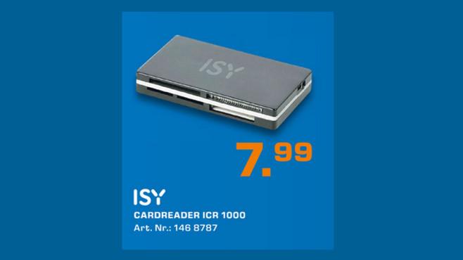 ISY Cardreader ICR 1000 ©Saturn