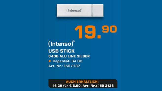 Intenso USB-Stick ©Saturn