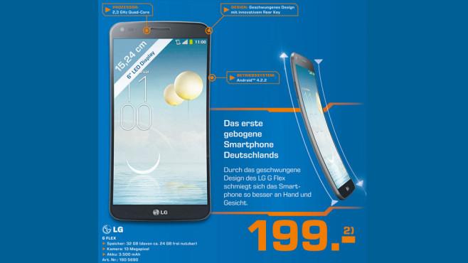 LG Electronics G Flex ©Saturn